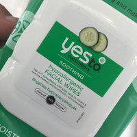 Yes To Cucumbers Hypoallergenic Facial Towelettes - 45 Ct uploaded by Leesa M.