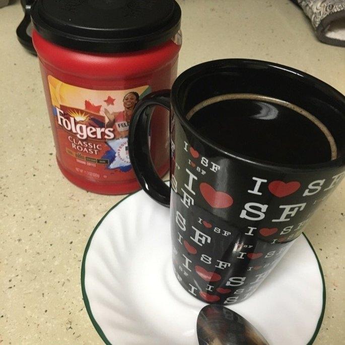 Folgers Coffee Classic Roast uploaded by Jesi Love T.