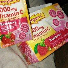 Photo of Emergen-C 1,000 mg Vitamin C Raspberry uploaded by Orlando M.