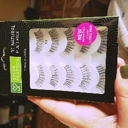 Photo of Salon Perfect Natural Multi Pack Eyelashes, 53 Black, 4 pr uploaded by Indira H.