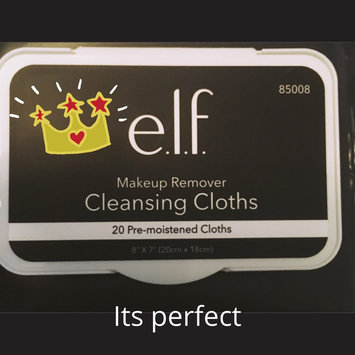 e.l.f. Studio Makeup Remover Cleansing Cloths uploaded by Hilda Z.