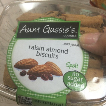 Photo of Aunt Gussie's No Sugar Added Raisin Almond Biscotti, 8-Ounce Tubs (Pack of 4) uploaded by Bebe B.