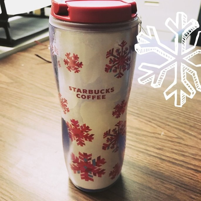Red Holiday Cup Tumbler, 12 fl oz Starbucks Drinkware uploaded by Heather S.