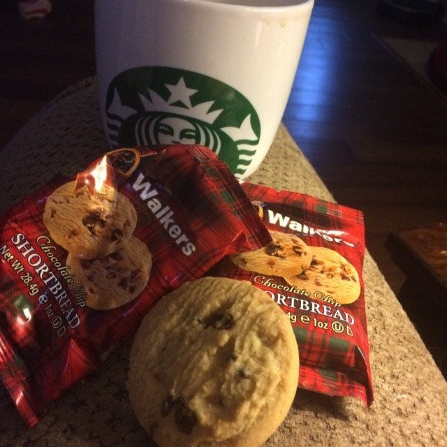 Walkers Shortbread Chocolate Chip , 2-Count Cookies (Count of 24) uploaded by Allison G.