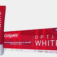 Colgate Optic White Anticavity Fluoride Toothpaste Luminous Mint uploaded by Mindy G.