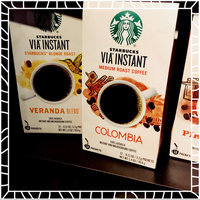 Starbucks Coffee VIA Colombia Instant Coffee uploaded by Kelley C.