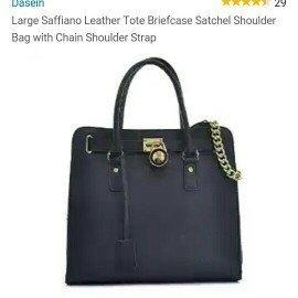 MICHAEL Michael Kors Hamilton Large Tote Bag, Black uploaded by Cookie 🍪 Reviews 📚 💋.