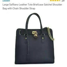 MICHAEL Michael Kors Hamilton Large Tote Bag, Black uploaded by Cookie 🍪 Reviews 📚 💋.