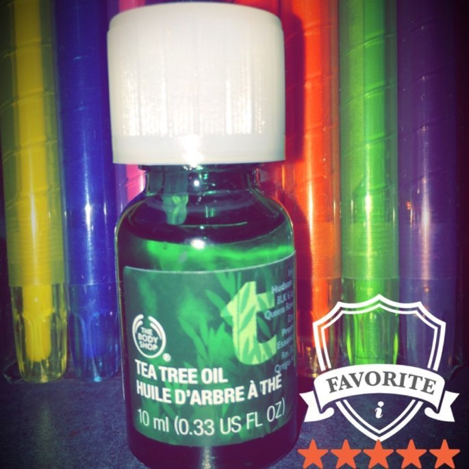 The Body Shop Tea Tree Oil, 0.33 Oz (Pack of 2) uploaded by Auie V.