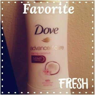 Dove Advanced Care Anti-Perspirant Deodorant, Caring Coconut, 2.6 oz uploaded by kaila e.