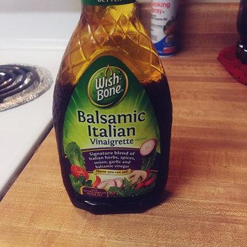 Wish-Bone® Balsamic Italian Vinaigrette Dressing 16 fl. oz. Bottle uploaded by Teran F.