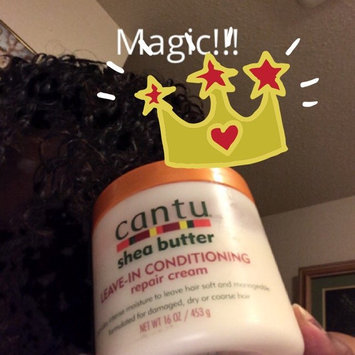 Cantu Shea Butter Leave-In Conditioning Repair Cream uploaded by Christina S.