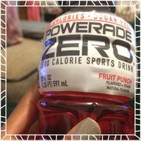 Powerade Zero Fruit Punch Zero Calorie Sports Drink - 8 PK uploaded by Shishandra D.