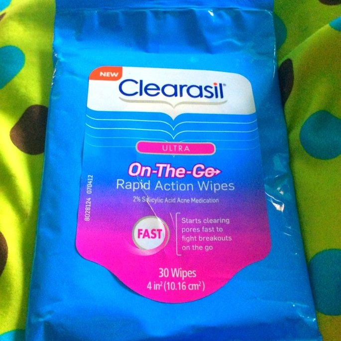 Clearasil Ultra On-The-Go Rapid Action Wipes uploaded by Marissa D.