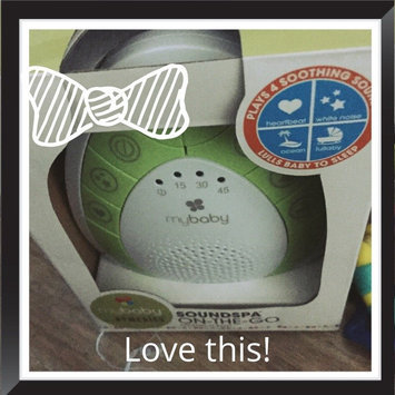 MyBaby by Homedics SoundSpa - Lullaby Relaxation Machine uploaded by Casie J.