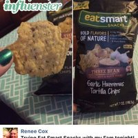 Eatsmart Snacks™ Garlic Hummus Three Bean Tortilla Chips uploaded by Elizabeth C.