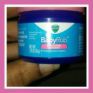 Vicks BabyRub Soothing Ointment uploaded by Margosha H.