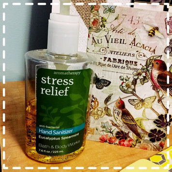 Photo of Bath & Body Works PocketBac Stress Relief Eucalyptus Spearmint Anti-Bacterial Hand Gel uploaded by Aerial P.