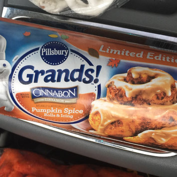 Photo of Pillsbury Grands!® Pumpkin Spice Rolls & Icing 5 ct Can uploaded by Amber C.