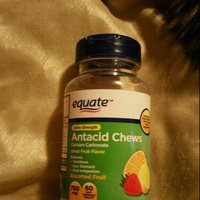 Equate Extra Strength Antacid Chews Assorted Fruit Soft Chewable Tablets, 750mg, 12 count uploaded by Crystal B.