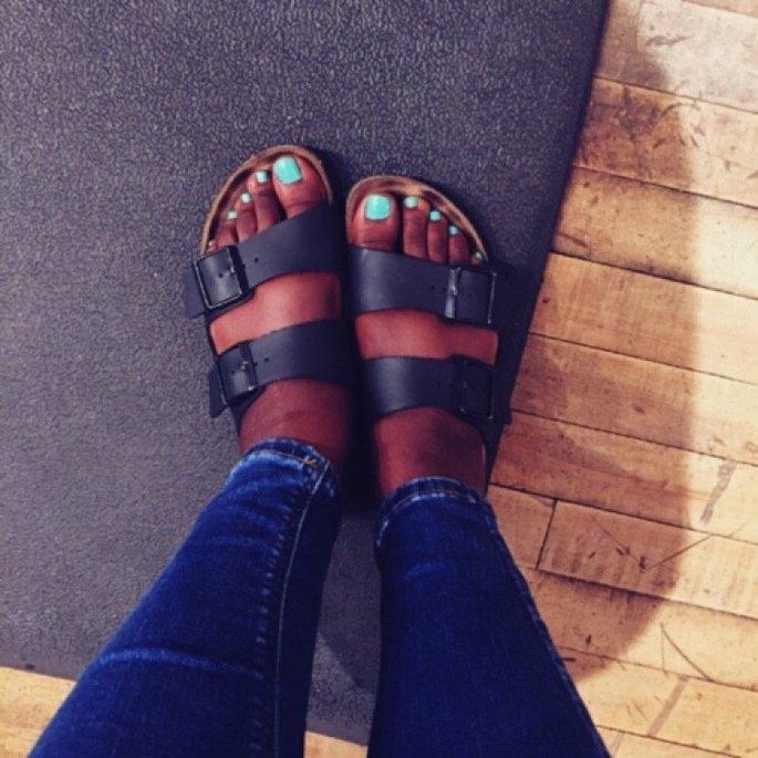 Birkenstock Unisex Arizona Soft Footbed Sandal [] uploaded by Omobolaji O.