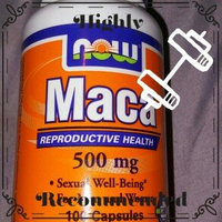 NOW Foods Maca 500 mg, Capsules, 250 ea uploaded by Maria M.