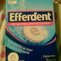 Efferdent Anti-Bacterial Denture Cleanser Tablets uploaded by Amy B.