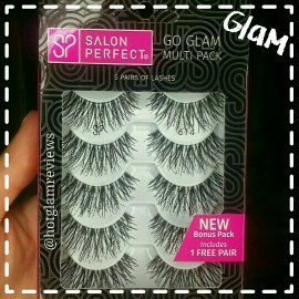 Photo of Salon Perfect Perfectly Natural Multi Pack Eyelashes, 614 Black, 4 pr uploaded by Kaylin H.