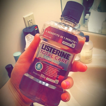 Photo of Listerine® Total Care Fresh Mint Anticavity Mouthwash 250mL Bottle uploaded by Lacey L.