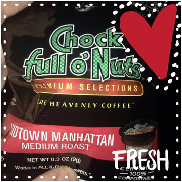 Photo of Chock Full o'Nuts Medium Roast Coffee Midtown Manhattan Single Serve Cups uploaded by Farren A.