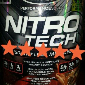 Photo of MuscleTech Nitro-Tech - 4lbs Decadent Brownie Cheesecake uploaded by Fresia R.