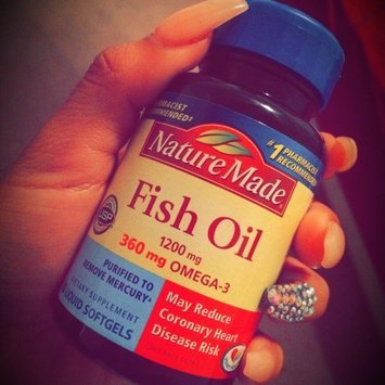 Nature made ultra omega 3 fish oil 1400 mg softgels 90 for Nature made fish oil review