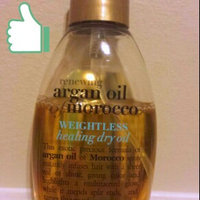 OGX Organix Moroccan Argan Oil Weightless Healing Oil 4 oz. uploaded by Ginger W.