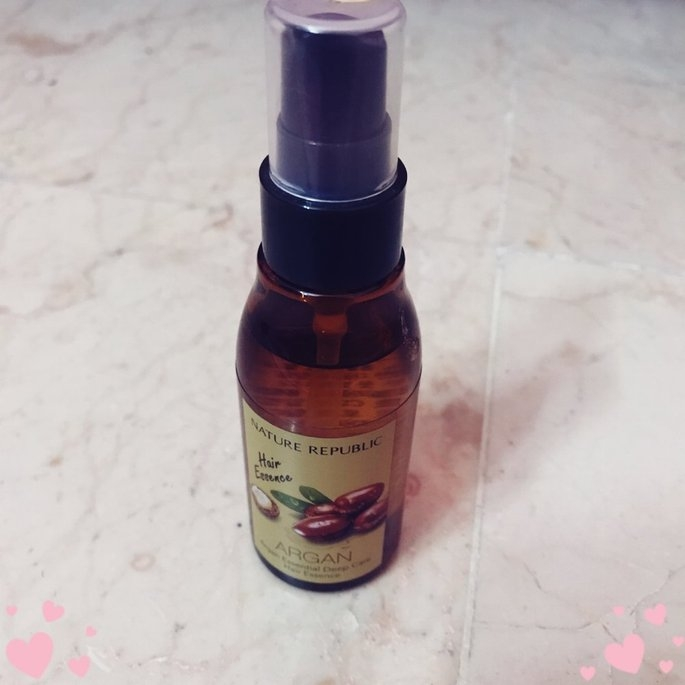 [Nature Republic] Argan Essential Deep Care Hair Essence uploaded by Sadaf J.