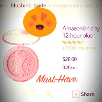 Photo of tarte™ Amazonian Clay 12-Hour Blush uploaded by Olive N.