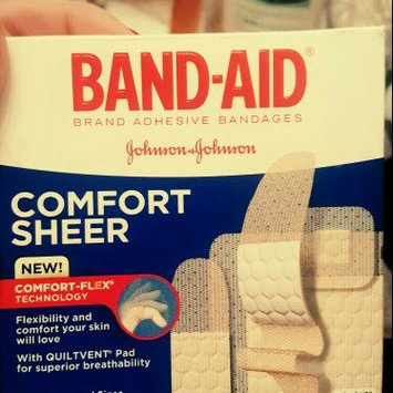 Photo of Band-Aid Adhesive Bandages Sheer Strips Extra Large - 10 CT uploaded by Jennifer N Ronnie F.