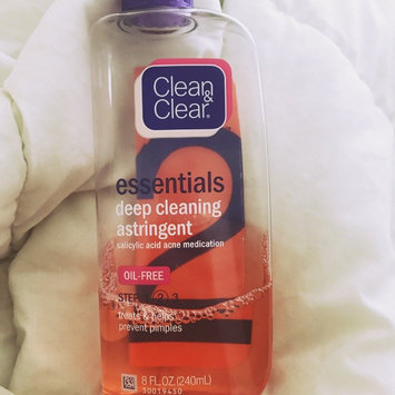 Photo of Clean & Clear® Essentials Deep Cleaning Astringent uploaded by Jasmine T.