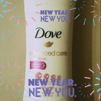 Dove® Clear Tone™ Advanced Care Sheer Touch Antiperspirant Deodorant uploaded by Jolie D.