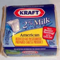 Kraft Singles 2% Milk American Cheese uploaded by Gil A.