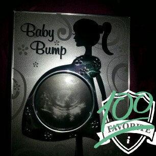 Photo of Malden Baby Bump Metal Baby Memories Picture Frame, 3