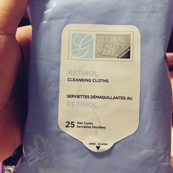 Global Beauty Care Premium Collagen Cleansing Cloths-60 Pack Wipes uploaded by Tika K.