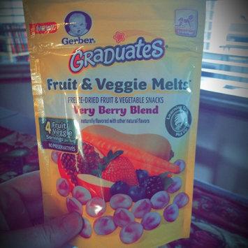 Photo of Gerber® Graduates® Fruit & Veggie Melts™ Snack Truly Tropical Blend uploaded by Lauren G.