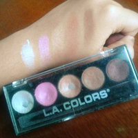 L.A. Colors 5 Color Metallic Eyeshadow, Wine and Roses, .26 oz uploaded by Andrea M.