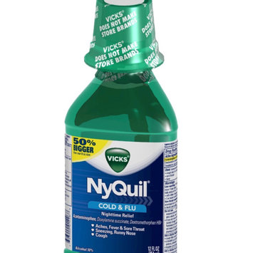 Photo of Vick's NyQuil Cold & Flu Relief Liquid  uploaded by Sammy A.