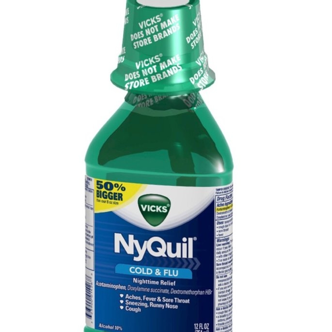 Vick's NyQuil Cold & Flu Relief Liquid  uploaded by Sammy A.