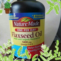 Nature Made Organic Flaxseed Oil 1,400 mg - Omega-3-6-9 for Heart Health - 300 Softgels [One Bottle of 300 Softgels] uploaded by Ebony G.