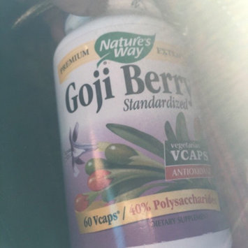 Photo of tures Way Goji Berry Standardized by Nature's Way - 60 Vegetarian Capsules uploaded by Lucy L.