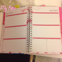 Blue Sky(TM) Fashion Wire-O Weekly/Monthly Planner, 8 1/2in. x 11in, Mahalo, July 2016 to June 2017 uploaded by .Dominguez D.