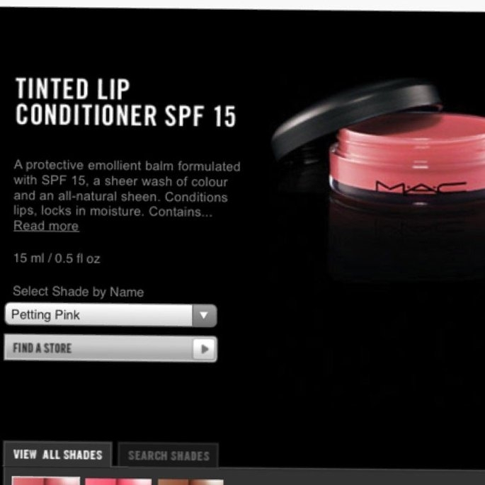 MAC Cosmetics MAC Tinted lip conditioner spf 15 SOOTHING BEIGE uploaded by Samantha H.