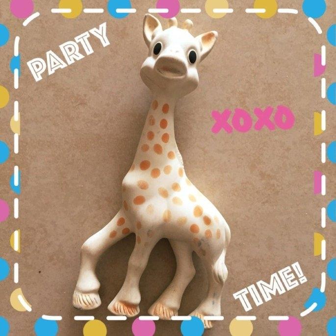 Vulli Sophie the Giraffe Teether uploaded by Ness D.